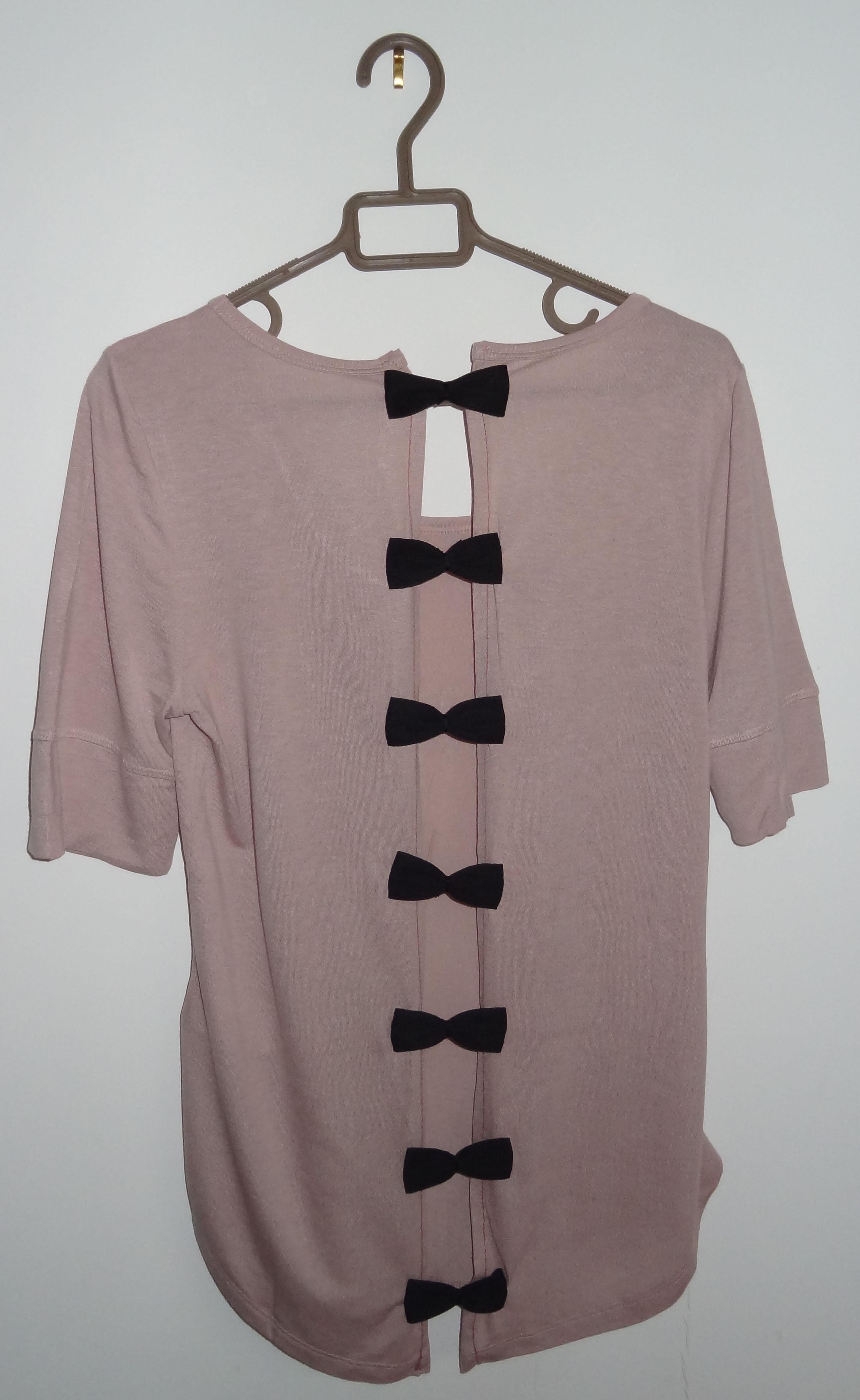 Diy couture le tee shirt dos nu cam lia blog point zigzag - Comment plier un t shirt ...