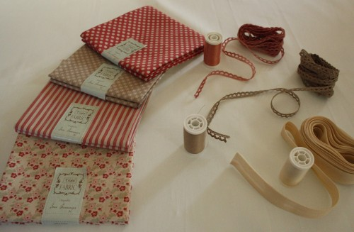 Guirlande de fanions en tissu| fournitures